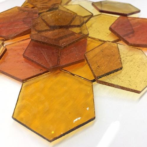 Hexagons (Amber Mix)