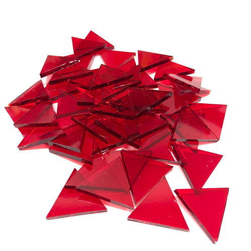 Fusible Cherry Red System 96 © Triangles