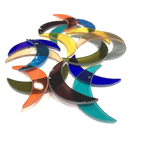 Colored Crescents (Variety Color Mix)