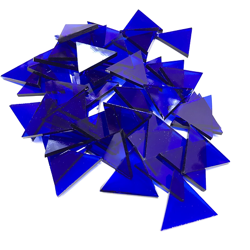 Fusible Dark Blue System 96 © Triangles