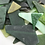 Thumbnail: Tumbled Stained Glass (Greens)