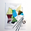 Thumbnail: Stained Glass Abstract Suncatcher Kit
