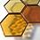 Thumbnail: Prefoiled Hexagons (Amber Mix)