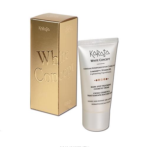 White Concept - Crema Cosmetica Trattamento Macchie Scure Viso e Collo