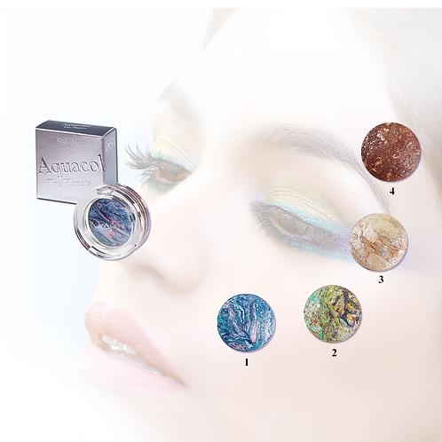 Aquacolor The Planets - Ombretto Acquarello Wet & Dry - 4 Colori