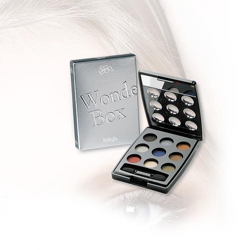 Wonder Box - Palette Occhi 9 Ombretti - Maquillage Spettacolare - 6 Colori