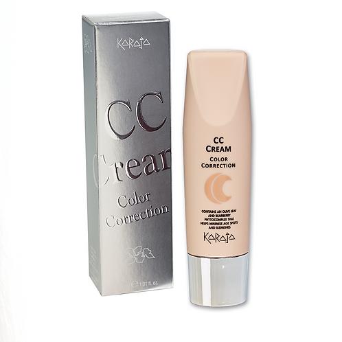 CC Cream - Color Correction - Crema Attiva Illuminante Correttiva - 5 Colori