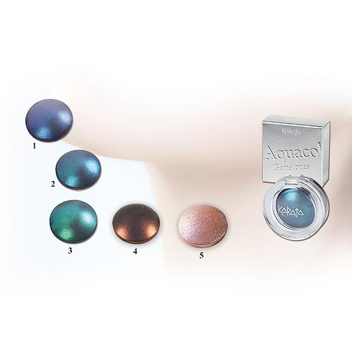 Aquacolor Gemstones - Ombretto Acquarello dai Riflessi Scintillanti - 3 Colori