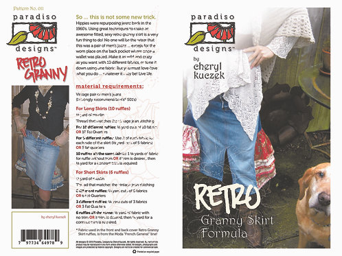 Retro Granny Skirt