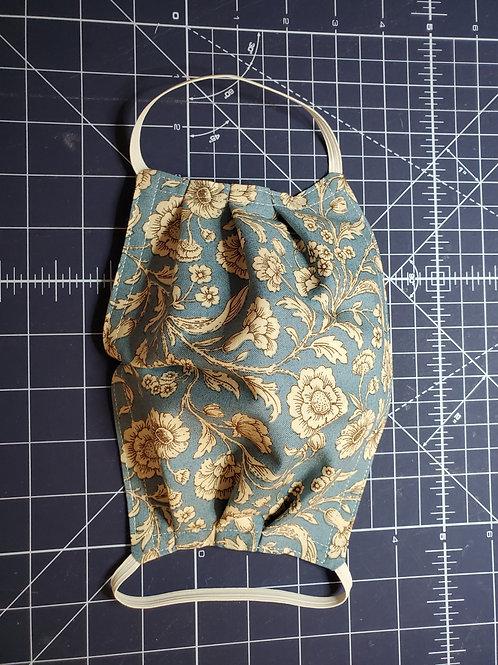 Blue Toile Mask Kit