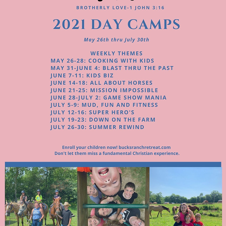 2021 Day Camps