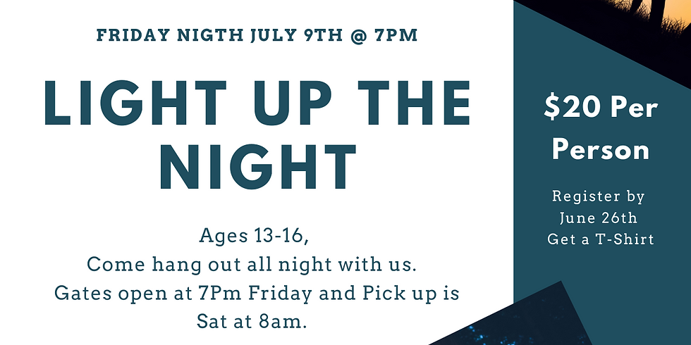 Light Up the Night Youth Lock-in