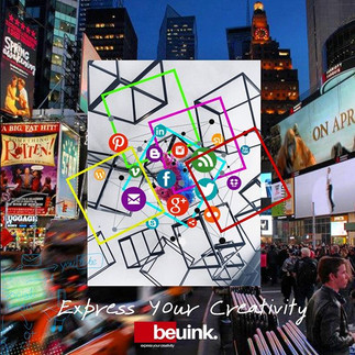 Express your creativity #beuink #creativ