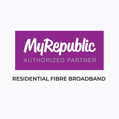 MyRepublic Home Fibre Broadband Internet