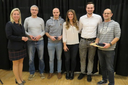 Stadt Gundelfingen ehrt VGG-Mixed-Team