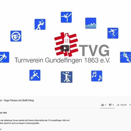 YouTube-Trainingskanal des TVG