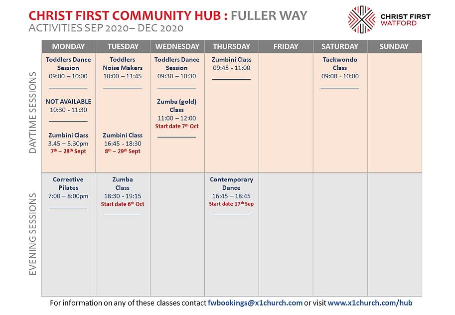 Sept-Dec 2020 The Hub Activity grid (pri