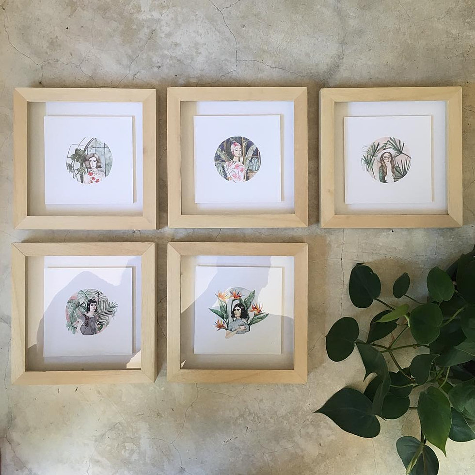 Spaces bespoke picture framer cape town floating art in a shadow box frame jeuxipadfo Choice Image