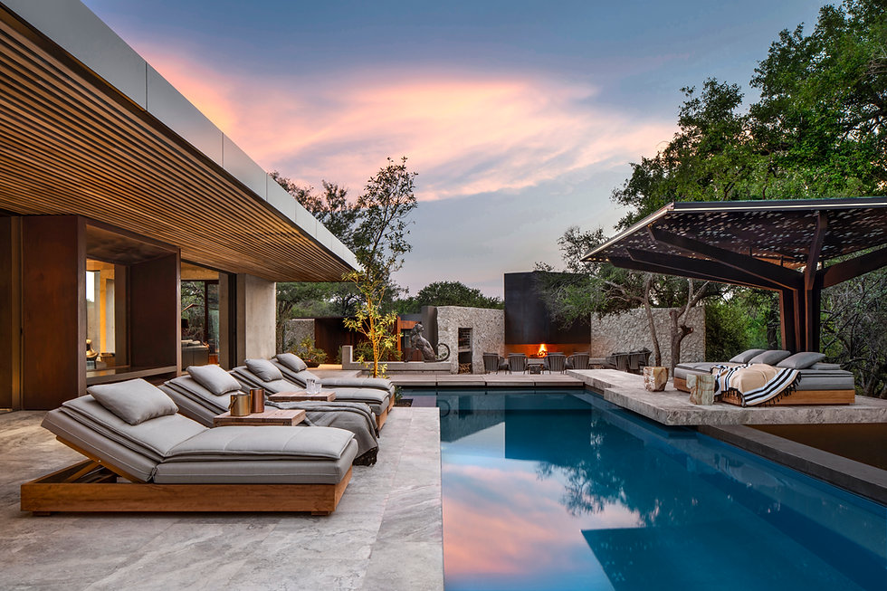 Luxurious Outdoor Furniture Hospitality ARRCC South Africa