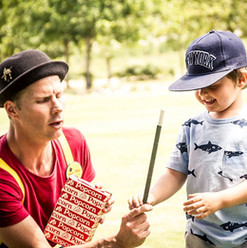 """""""The Dev is a legendary magician, he not only held the attention of 20 5yr olds, for 30mins with laughter,  brilliant magic and energy, but also 15 adults with his quick wit and impressive sleight of hand. I would highly recommend The Dev to everyone."""" - Alex Hully"""