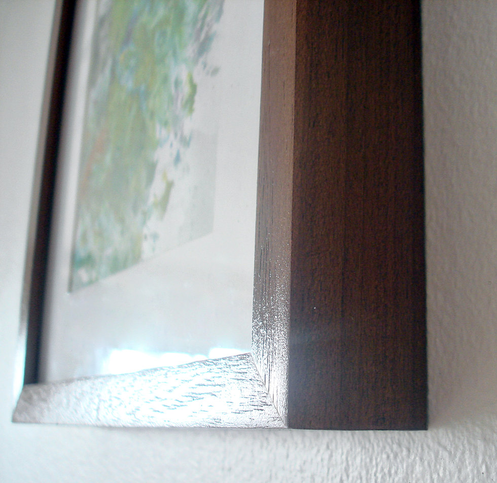 Spaces bespoke picture framer cape town hand finishing of wooden frames jeuxipadfo Image collections