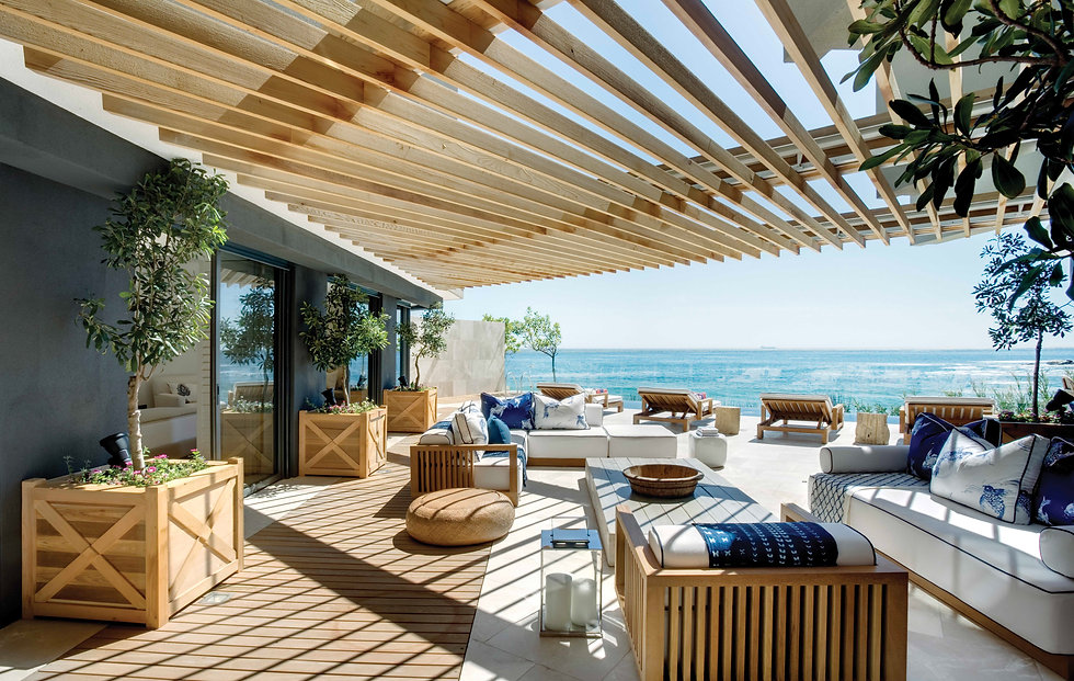 Luxurious Outdoor Furniture Interior Design ARRCC South Africa