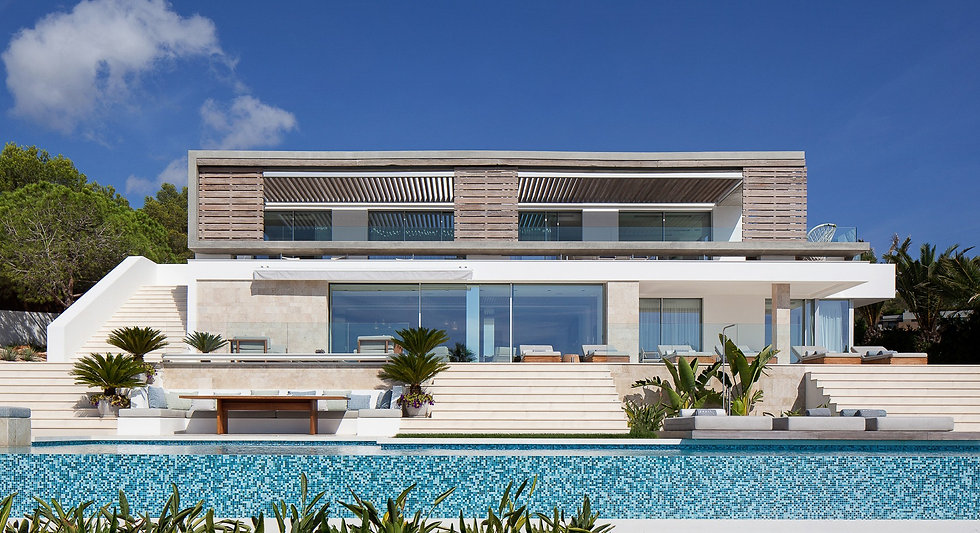 Luxurious Outdoor Furniture Residential ARRCC Ibiza Spain