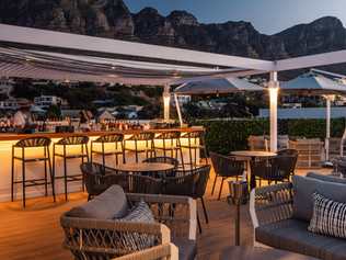 BAPTISTE ROOFTOP POOL, BAR & LOUNGE CAMPS BAY SOUTH AFRICA