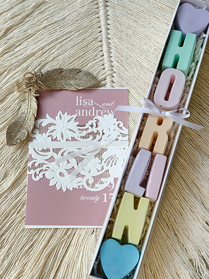 Girl's Name Personalised Chalk Set (up to 7 Letters)