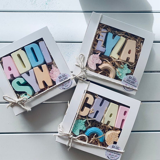 Girl's Name Personalised Chalk Set (up to 8 Letters)