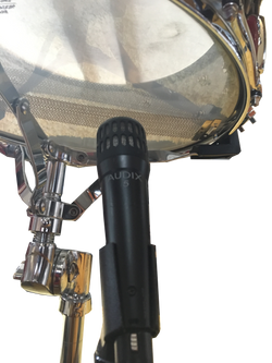 Audix 5 under the snare