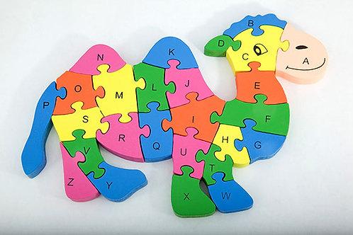 Alphabet & Number Puzzle - Camel
