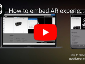 Create & Publish AR content to your website in 2021 (Easiest Method)
