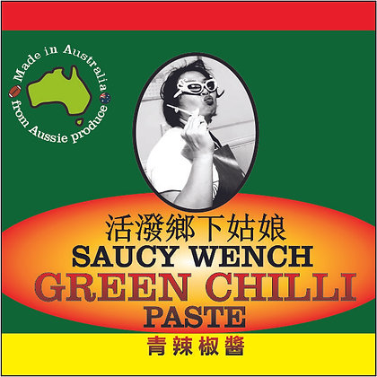Saucy Wench Green Chilli Paste