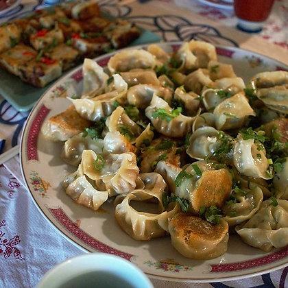 Saucy Wench Handmade Pork & Wombok Dumplings (Frozen)