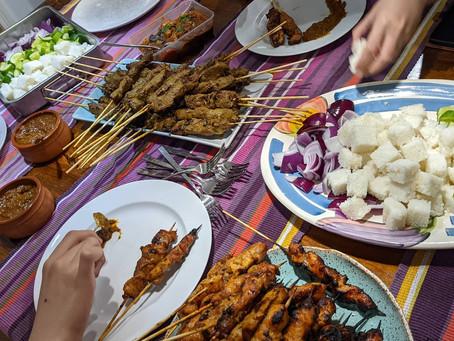 Satay Family Dinner!