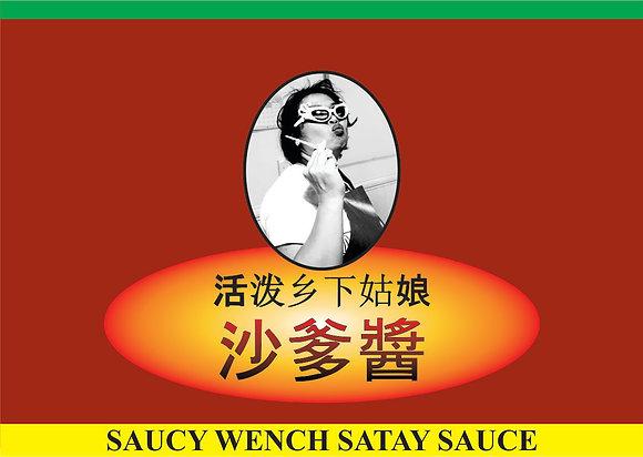 Saucy Wench Satay Sauce