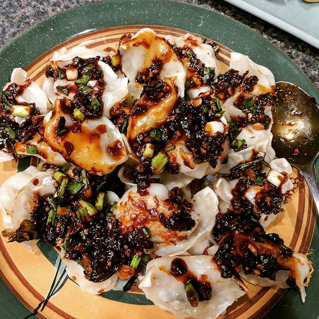 Dumplings with Chilli Oil