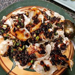 Dumplings with Chilli Oil