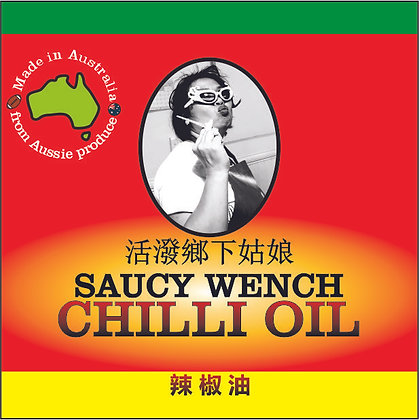 Saucy Wench Chilli Oil