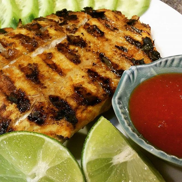Grilled Turmeric Fish