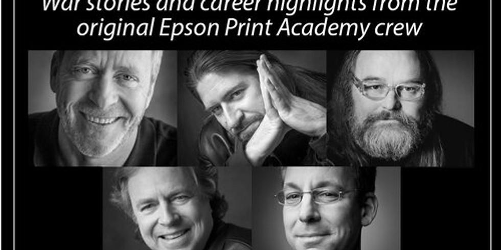 Conversation with the Epson Print Academy Crew