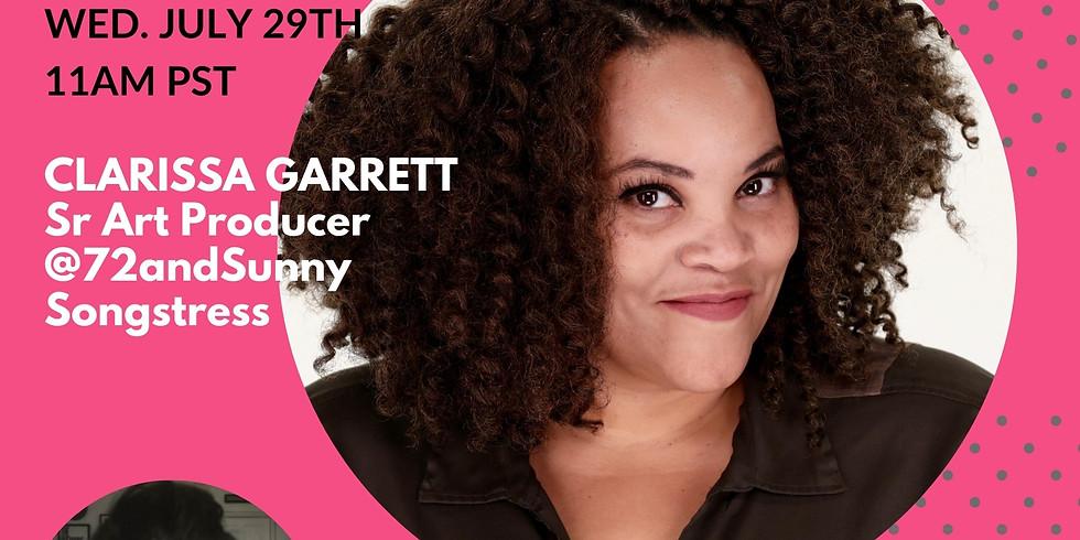 PIT STOP with Clarissa Garrett