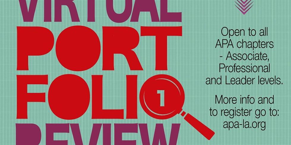 APA LA Virtual Portfolio Review