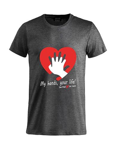 T-shirt RCP Grigio