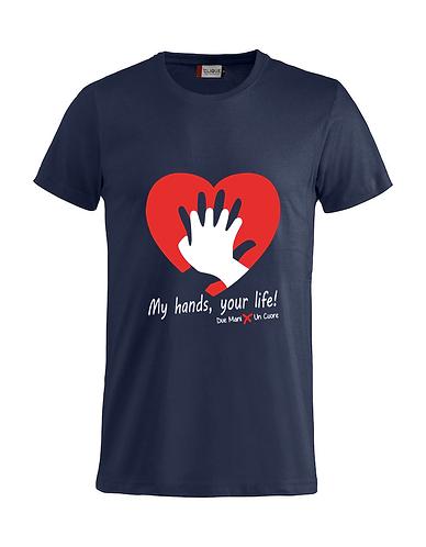 T-shirt RCP Blu