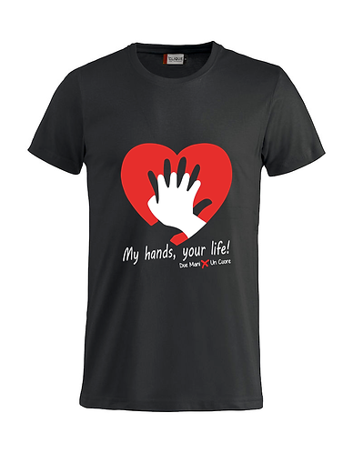 T-shirt RCP Nero