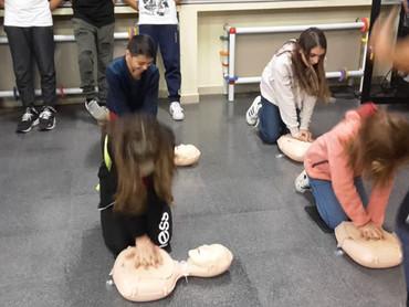 Comprensivo di Follina e Tarzo, docenti e alunni a lezione di primo soccorso