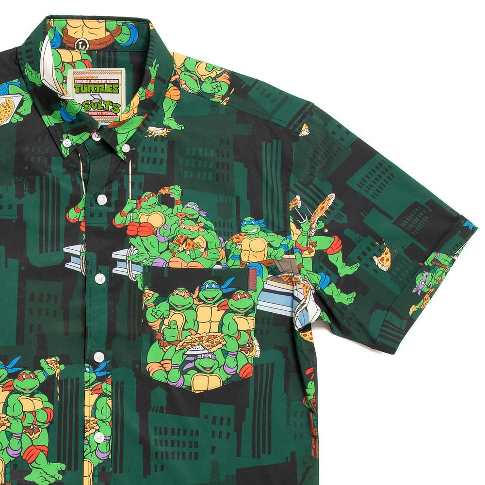 RSVLTS, $68 Teenage Mutant Ninja Turtles buttondown