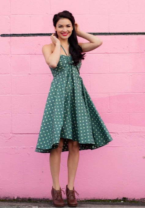 ginger_lamb_dress_bella_turquoise_polka_dot_retro_vintage_strapless_2